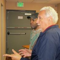 Carl Booker and Mario Salas